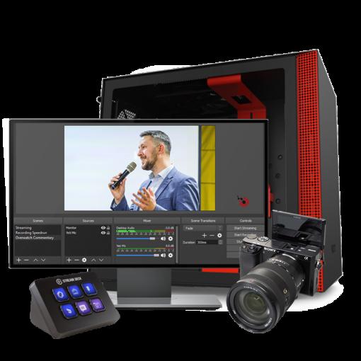 1 Camera Live Streaming Setup