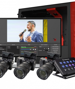 3-Camera Live Streaming Kit