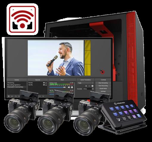 Wireless Live Streaming Kit