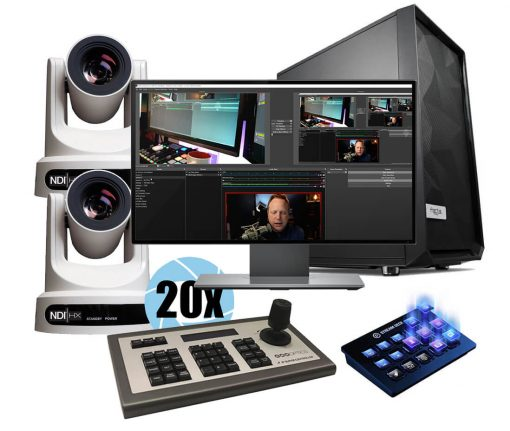 2-Camera PTZ Package