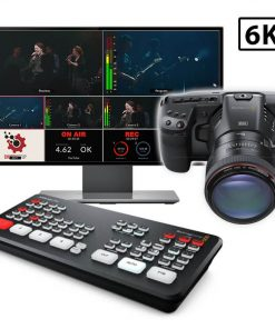 6K Pocket Cinema Atem Mini Live Streaming Kit