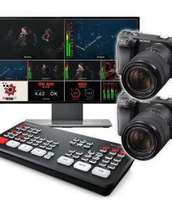 2-Camera Streaming Kit ATEM Mini Pro