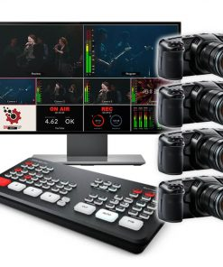 4 Pocket Cinema Live Streaming ATEM Mini Pro Kit