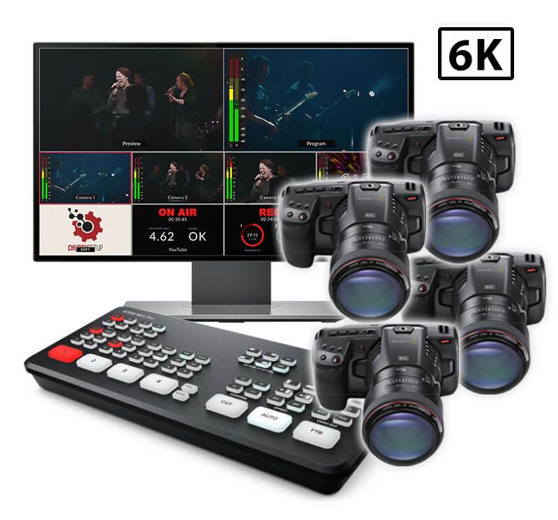 Blackmagic Pocket Cinema Live Streaming Kit