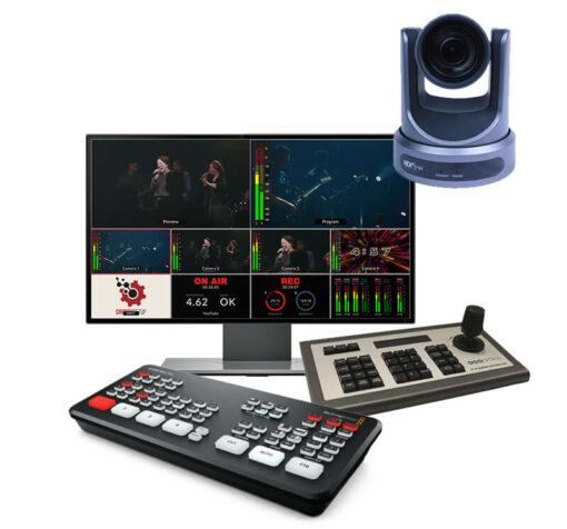 ATEM Mini PTZ Streaming Kit