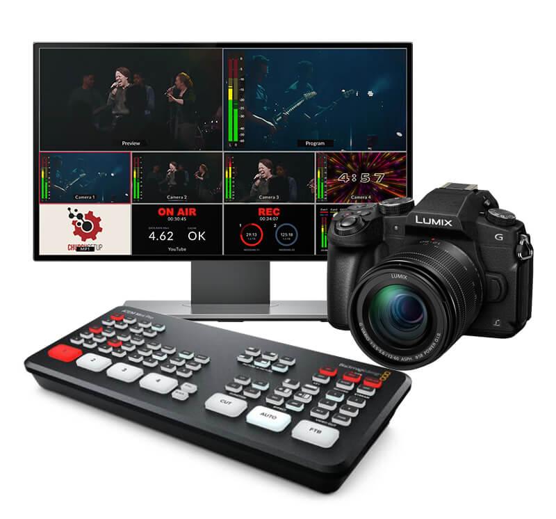 Budget ATEM Mini Streaming Kit